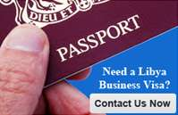 Contact Us For Your Libya Visa